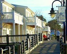 River Walk in Downtown Wilmington, North Carolina