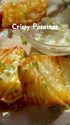 Vegetarian Recipes, Cooking Recipes, Healthy Recipes, Appetizer Recipes, Dinner Recipes, Appetizers, Best Potato Recipes, Mozarella, Food Vids