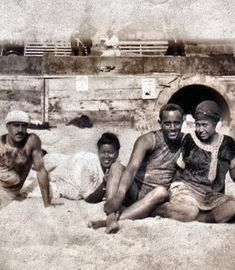 The Inkwell, Santa Monica, California (1905-1964) |  African Americans from throughout Southern California socialized, enjoyed the ocean breezes, and swam at the Inkwell, with less racial harassment than at other area beaches.