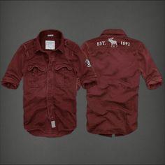 Camisas Abercrombie Hombre