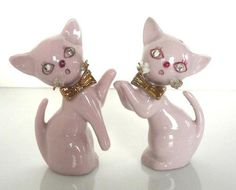 Vintage Lefton Salt Pepper Shakers