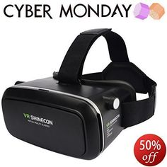 3rd Vr Virtual Reality Headset Google Version 3D Glasses DIY Video Movie Game Glasses for iPhone 6 iPhone6 Plus Samsung LG Sony HTC Xiaomi ZTE ... (3D) Virtual Reality Headset, Augmented Reality, Vr Shinecon, 3d Glasses, Vr Headset, Iphone6, Diy Videos, Plays, Sony