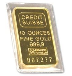 Gold 10 Oz Credit Suisse Bar In 2020 Gold Bullion Bars Credit Suisse Gold Price Chart