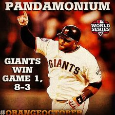 4 hits, 3 RBI, 3 HR, 1 game, 1 man: Pablo Sandoval through history. My Giants, Giants Baseball, 2010 World Series, Casey At The Bat, Sf Niners, Pablo Sandoval, Giant Games, Team Photos, San Francisco Giants