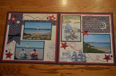 double page layout nautical authentique