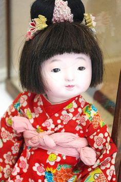 Japanese Ichimatsu doll. I have one like this I bought as a teenager.