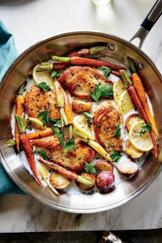 Skillet Chicken with