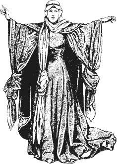 1100-1135 Historie odívání - 12.století, část 1.