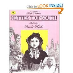 A poignant children's book that is a young girl's letter to a friend recounting her trip South in the pre-Civil War days. This was one of the first books that really moved me as a child and marked the beginning of my interest in African-American history and civil rights.