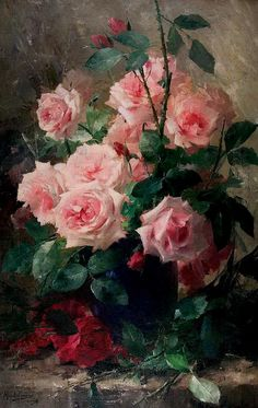 Бельгийский художник Frans Mortelmans ...