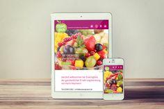 Webdesign für eine Ernährungsberaterin www.essensglueck.de