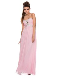 Charming Baby Pink & Sequin Prom Dresses