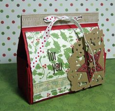gift box includes template and tutorial Lime tart oct12