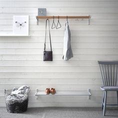 Scandinavian Interior, Scandinavian Design, Entry Hallway, Hallway Decorating, Interiores Design, Interior Styling, Interior Inspiration, Blinds, New Homes