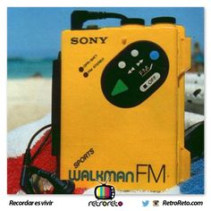 ¡Vamos a escuchar música en mi walkman!