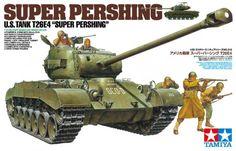 1:35 Super Pershing US Tank T26E4 Tamiya Model kit: 35319 - Image 1