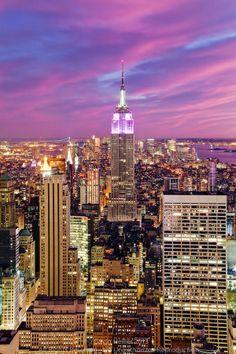 """New York City, Manhattan, vista para Downtown Manhattan"""", de Gavin Hellier :D"""