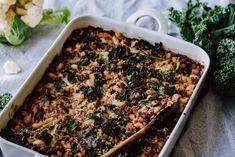 Kukkakaali-makaronilaatikko (V) – Viimeistä murua myöten Cauliflower Recipes, I Love Food, Beef, Waiting, Drinks, Meat, Drinking, Beverages, Califlower Recipes