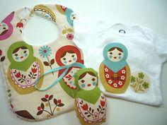 matryoshka baby gift set