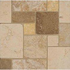 Bedrosians Travertine - Natural stone mosaics