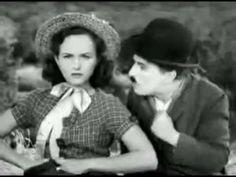 """Smile"" Film clip: ""Modern Times"" Charlie Chaplin; Piano: Michael Veazey"