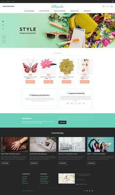 Gifts Store Responsive MotoCMS Ecommerce Template #63717