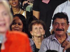Orlando shooter's father attends Hillary Clinton rally in Kissimmee Seddique Mateen seen sitting right behind Clinton