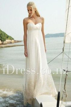a-line ethereal strapless sweetheart pleated ivory wedding dress