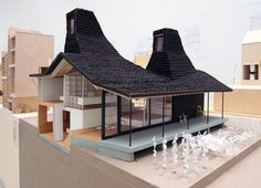 1:20 model of 'nora house' (2006), by atelier bow-wow at venice architecture biennale 2010