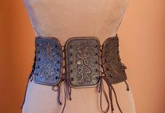 Leder mittelalterlichen Frauen halbe Unterbrust Body Korsett