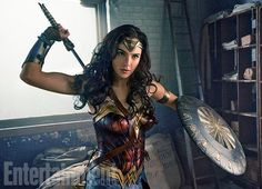 Gal Gadot leaps into action as Wonder Woman