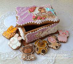 Пряничное волшебство Елены Бондаренко: Подарок для маленькой девочки