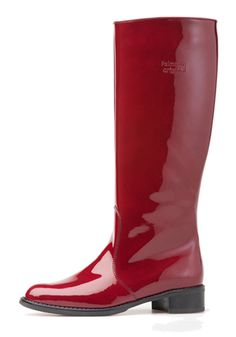 red patent Palmroth Original boot