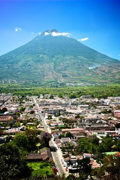 I wish I were here. Antigua, Guatemala
