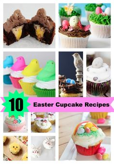 10 FUN Easter Cupcakes Your Children Will Love l @Vera Sweeney (Ladyandtheblog.com) l http://ladyandtheblog.com
