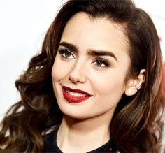 Lily Collins ♥                                                                                                                                                                                 More