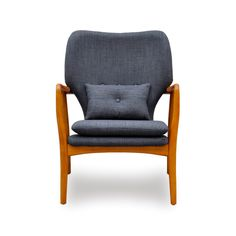 Sophistication and elegance sure looks comfy, doesn't it? Perfect for a reading nook or as a corner lounge chair, the Franklin Arm Chair in Denim Blue gives any space a modern character. Constructed ou...  Find the Franklin Arm Chair - Denim Blue, as seen in the A Modern Bohemian Abode Collection at http://dotandbo.com/collections/a-modern-bohemian-abode?utm_source=pinterest