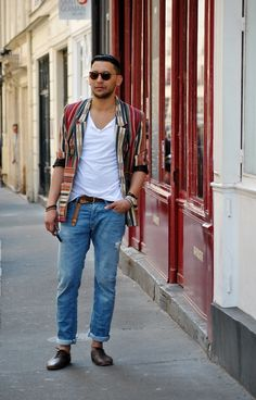 On the streets of Paris
