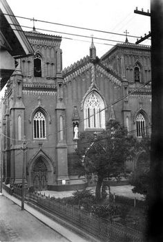 Santo Domingo Church, Intramuros, Manila, Philippines, before 1941 by John T Pilot, via Flickr