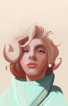 Scarlett Monroe - by `DanLuVisiArt on deviantART