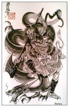 143059014bf2dcd10ee718 640 960 horimouja pinterest ideas de tatuajes tatuajes y demonios. Black Bedroom Furniture Sets. Home Design Ideas