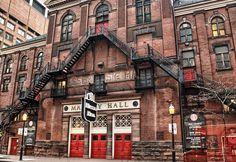 Massey Hall just off Yonge St.