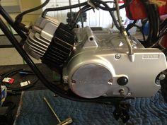 1971 Yamaha JT 1, Engine