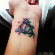 Deathly Hallows...My First Tattoo