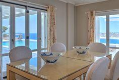 Presidential Villa in Mykonos. Santa Marina Resort & Villas with Private Pool in Mykonos. Marina Resort, Villa With Private Pool, Resort Villa, Villas, Dining Room, Luxury, Diamond, Design, Home Decor