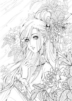 two women coloring page for adults coloration filles and coloriages pour adultes on 7923