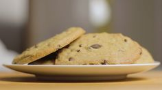 Soft and Warm Chocolate Chip Cookies