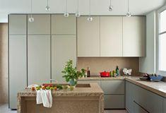 Cocinas color crema