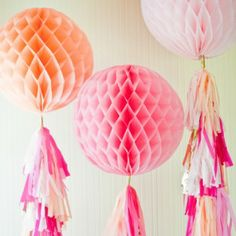 Website with beautiful party decorations and supplies