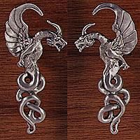 Superieur Gothic Dragons, Left And Right From Gayle Bright Closet Knobs